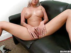 Blonde babe deadra dee gets a cock