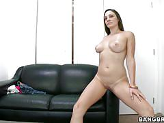 Horny whore melanie hicks in a solo
