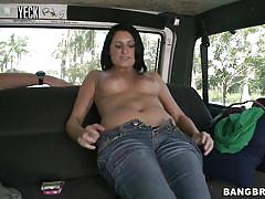 Nikki's in the van, getting naked, what's next?