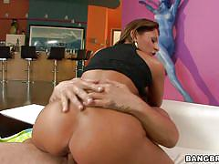 Alison star uses all her assets on this dick!