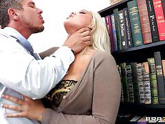 blonde, spanking, big tits, long hair, office, kissing, work, moaning, undressing, choking, dayna vendetta, mick blue, big tits at work, brazzers, jugg cash
