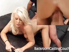 Big tit milf assfuck casting