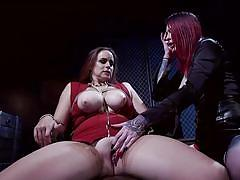 Shemale mistress needs some fat pussy now