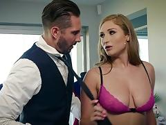 Skyler snow is hot and horny and ready to fuck