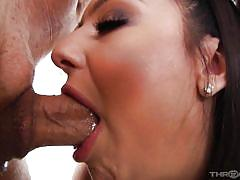 Eliza ibarra gets throat fucked