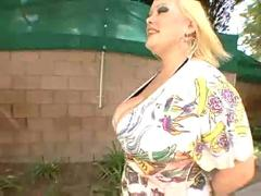 Fat blonde bunny de la cruz fucked by black cock...f70