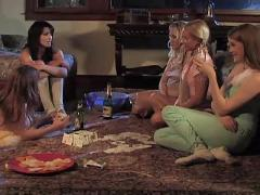 Beautiful mature lesbian seduces teen - sydnee & sarah