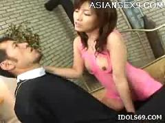 Kana shimada creampie asian slut enjoys all the cock she can get