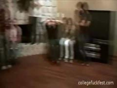 College sex party video