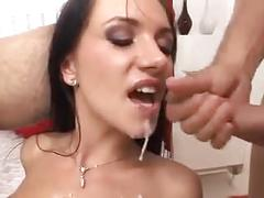 anal, brunettes, gaping, threesomes