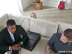 milf, blonde, big ass, black, interracial, masturbating, bubble butt, anal dildo, big butts like it big, brazzers, aj applegate, isiah maxwell