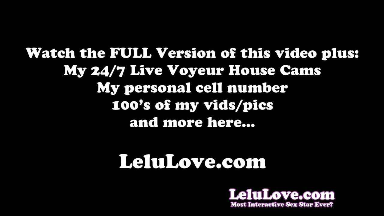 Lelu love-oily masturbating watching porn