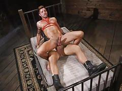 Submissive stud got addicted to big dicks