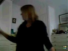50 yr oldie plays on cam