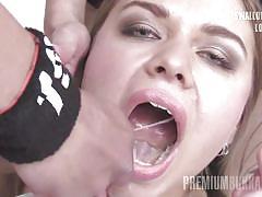 Jane swallows 67 huge mouthful cumshots