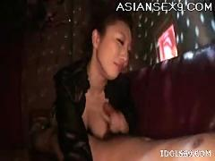 Koyuki hara hot asian slut really knows how to suck a cock
