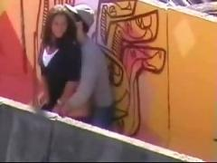 Amateur - trepando na passarela