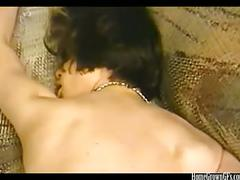 Horny amateur couple making their 1st sex tape