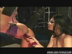 Tera patrick gets fucked by a lesbian