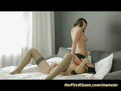 Cute lesbian sex art orgasm