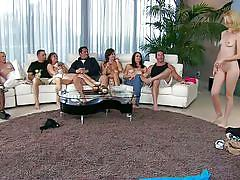 Swing orgy with sexy milfs