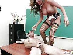 Milf teacher getting fucked