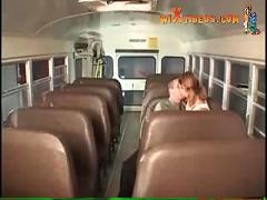 Schoolbus fucking
