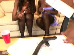 Jada fire anal 3some