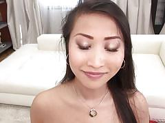 Asian milf loves to suck cocks @ rocco's intimate castings #11