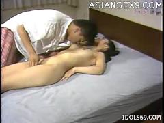 mai, misaki, horny, asian, housewife, gets, her, pussy, pounded, during