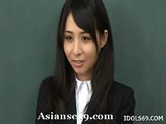 Yuka osawa naughty schoolgirl gets her wet pussy poked