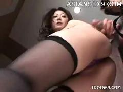 Ayano murasaki naughty asian slut enjoys eating cock