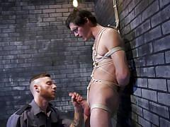 Punished and fucked in the dungeon