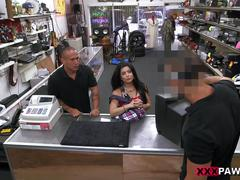 Fucking a cuban chick for her tv - xxx pawn