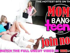 Moms bang teen  - virtual step mother and dau