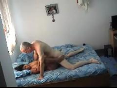 Asian pro does old man ( asian hardcore amateur )