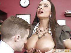 Amazing milf get her big tits fucked
