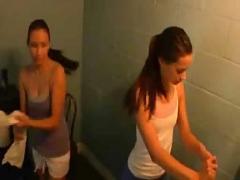 Lesbian workout