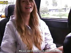 blonde, babe, russian, long hair, blowjob, pick up, in car, pickup fuck, wtf pass, yulia blondy