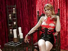 Must obey the shemale mistress