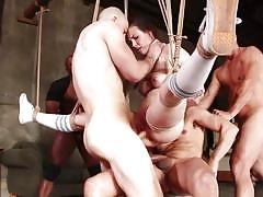 anal, bdsm, babe, ebony, interracial, big cock, gangbang, double penetration, brunette, rope bondage, bound gang bangs, kink, mr. pete, casey calvert, ramon nomar, prince yahshua, donny sins, zachary wild