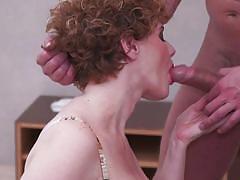 milf, handjob, big tits, redhead, big cock, blowjob, titjob, mature nl, merce