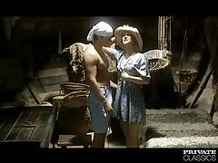 Kristina enjoys anal sex on the ship
