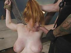 milf, bdsm, big tits, redhead, punishment, domination, tattooed, facefuck, ball gag, device bondage, rope bondage, sex and submission, kink, penny pax, tommy pistol