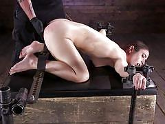 Helpless serena blair was bound and punished