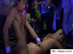 Group girls dancing and fucking on party