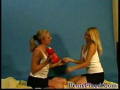 Young blond lesbians