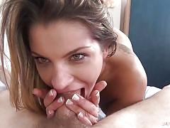 Angel rivas gets two big dicks at once