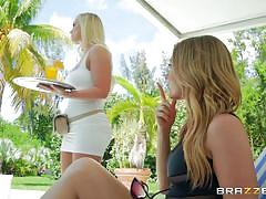 milf, lesbians, babe, outdoor, rimjob, busty, pussy licking, hot and mean, brazzers, bailey brooke x, addison lee
