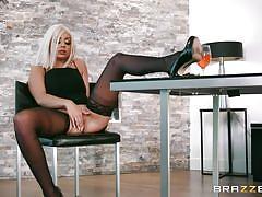 milf, blonde, handjob, big tits, big cock, seduction, deepthroat, kitchen, masturbating, from behind, boobs groping, real wife stories, brazzers network, madelyn monroe, keiran lee